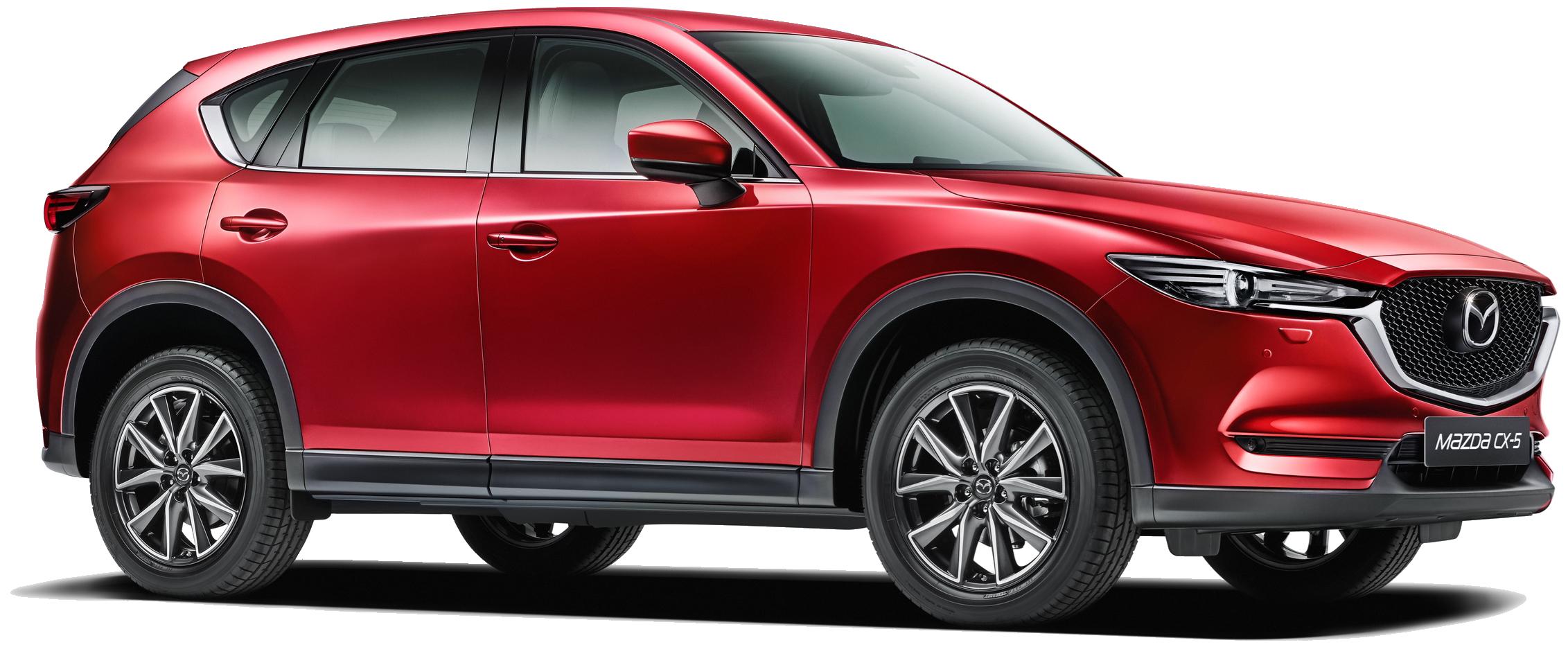 Den nye Mazda CX-5 er landet - kom ind og prøv den nu