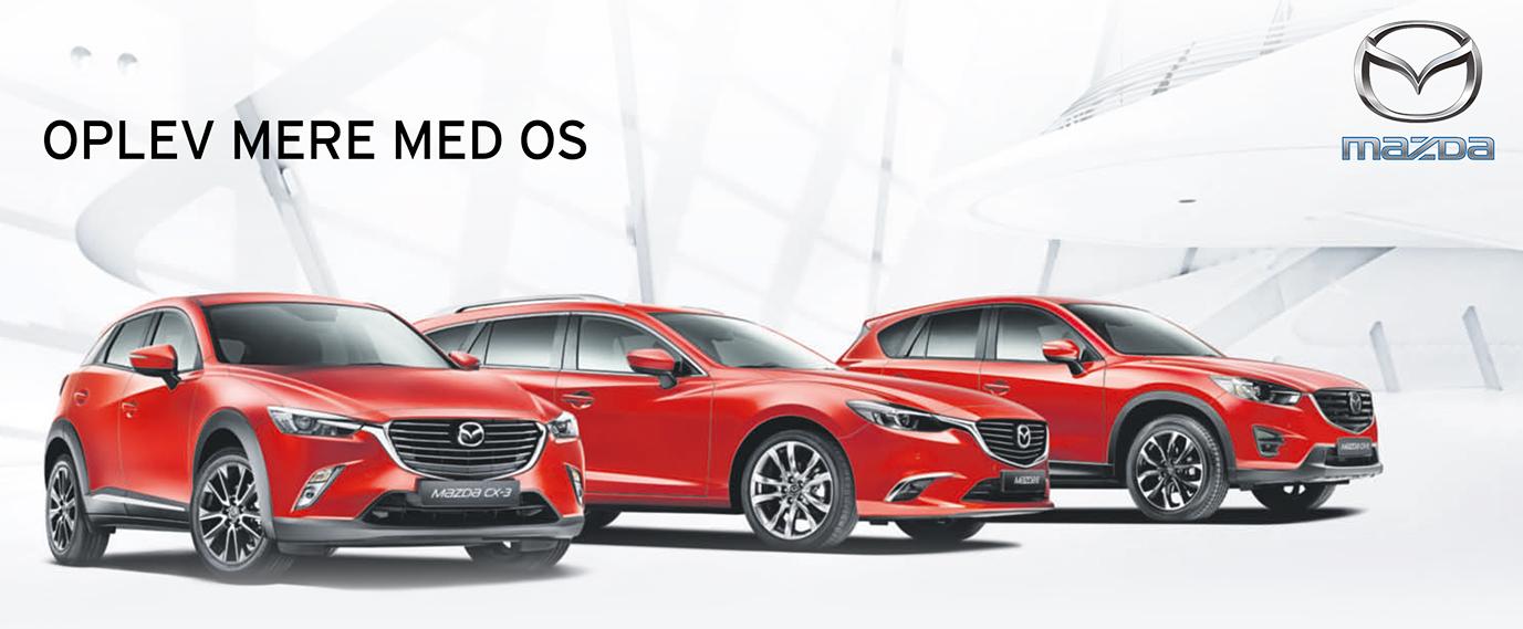 Mød alle Mazdas modeller hos Daugaard Biler - Mazda i storkøbenhavn